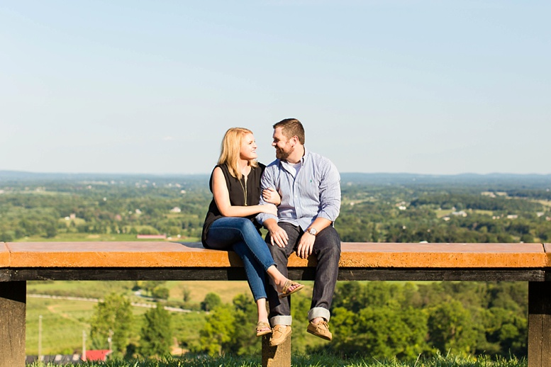 Bluemont Vineyard Proposal Engagement Photography_0025