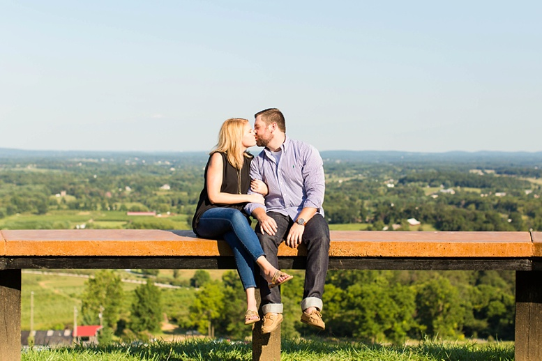 Bluemont Vineyard Proposal Engagement Photography_0026