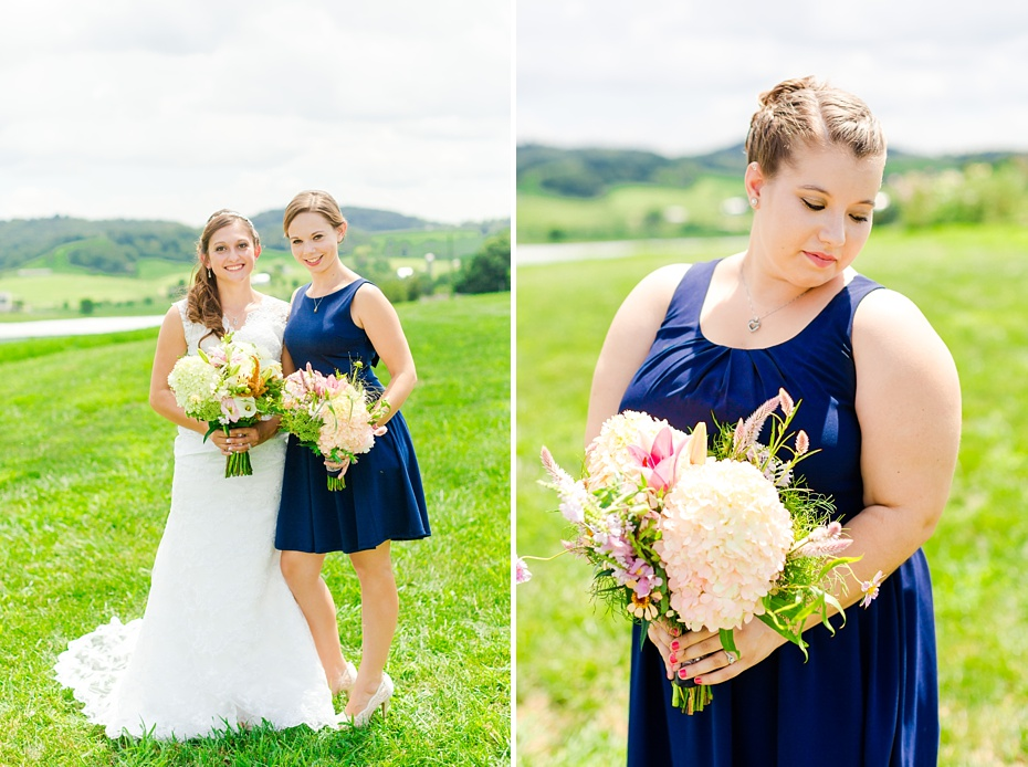 Chris Redifer & Alexis Cook Wedding at On Sunny Slope Farm in Harrisonburg Virginia_0022
