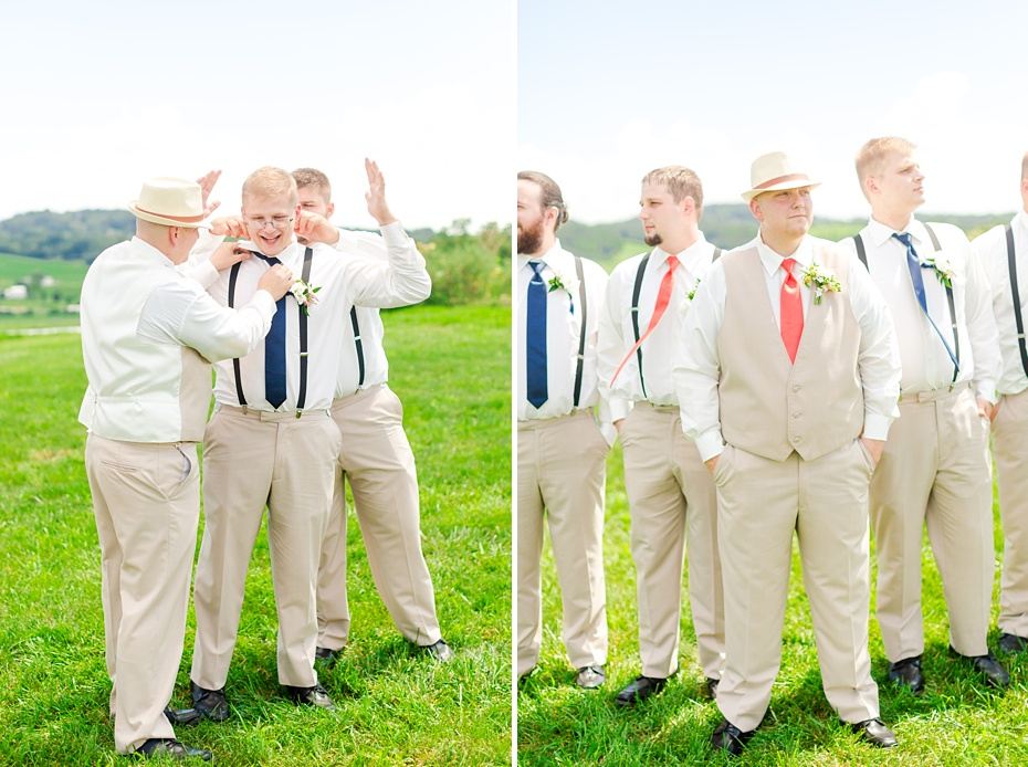 Chris Redifer & Alexis Cook Wedding at On Sunny Slope Farm in Harrisonburg Virginia_0024