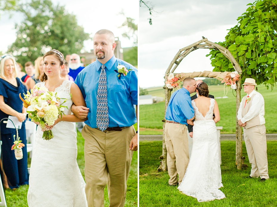 Chris Redifer & Alexis Cook Wedding at On Sunny Slope Farm in Harrisonburg Virginia_0033