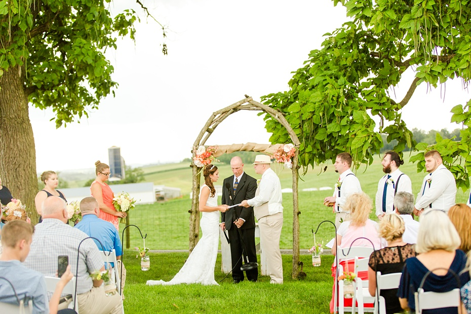 Chris Redifer & Alexis Cook Wedding at On Sunny Slope Farm in Harrisonburg Virginia_0036
