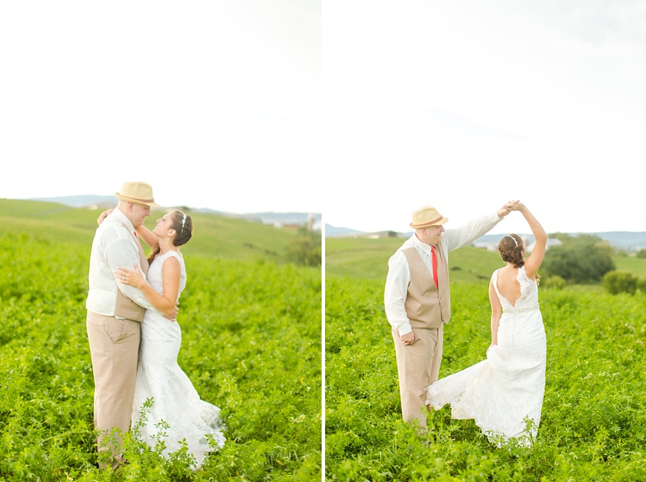 Chris Redifer & Alexis Cook Wedding at On Sunny Slope Farm in Harrisonburg Virginia_0059