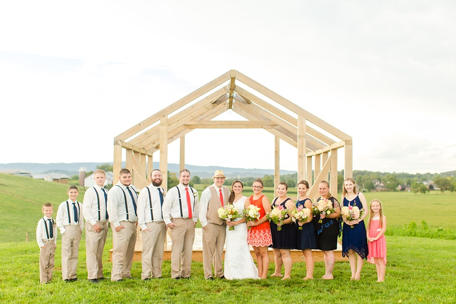Chris Redifer & Alexis Cook Wedding at On Sunny Slope Farm in Harrisonburg Virginia_0065