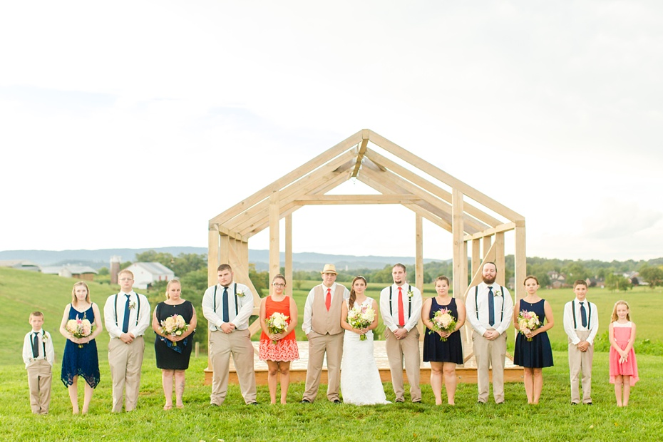 Chris Redifer & Alexis Cook Wedding at On Sunny Slope Farm in Harrisonburg Virginia_0066