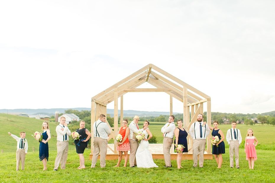 Chris Redifer & Alexis Cook Wedding at On Sunny Slope Farm in Harrisonburg Virginia_0067