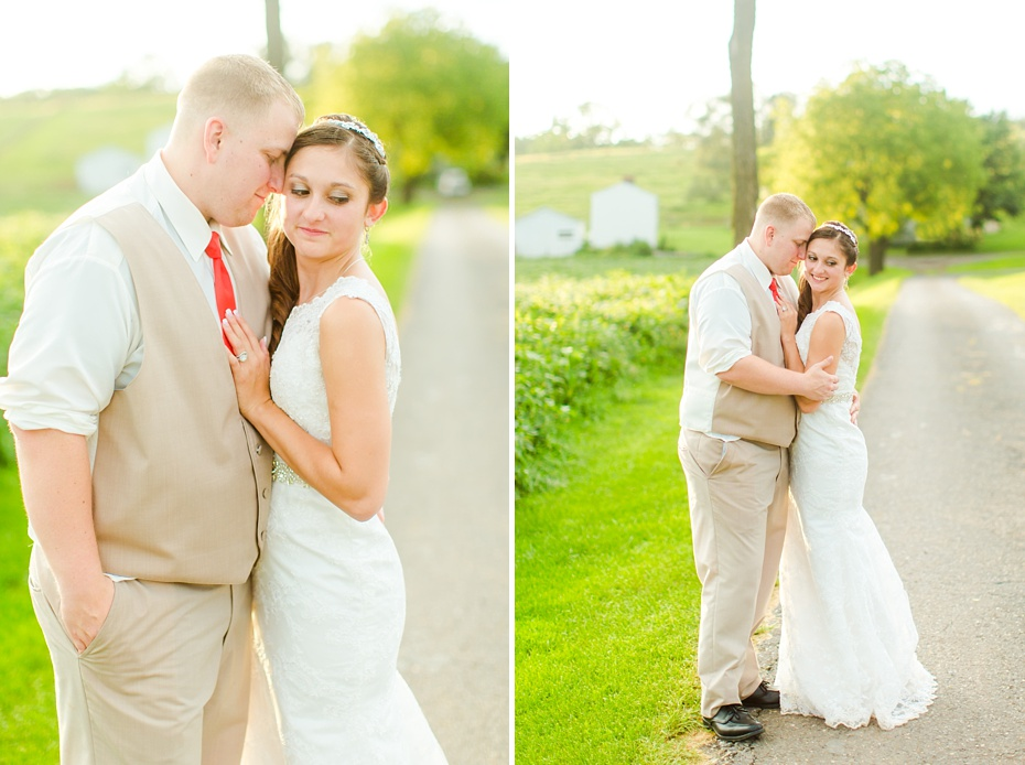 Chris Redifer & Alexis Cook Wedding at On Sunny Slope Farm in Harrisonburg Virginia_0082